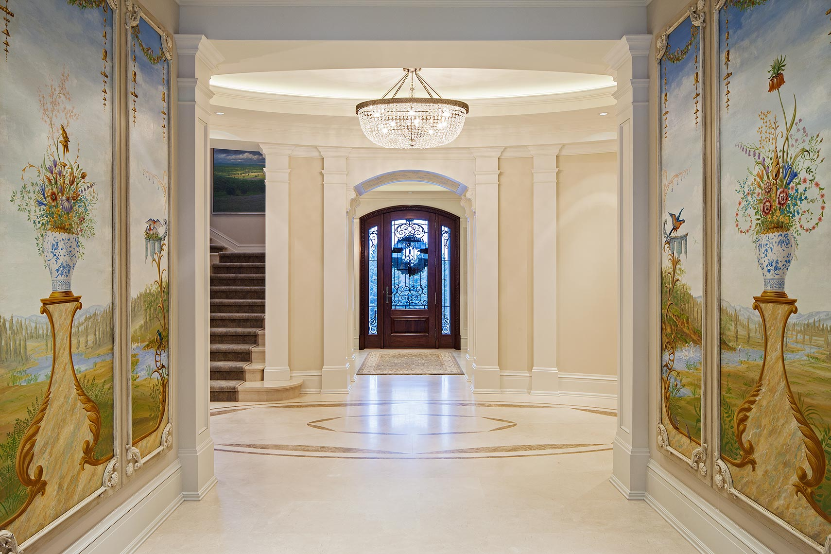Interior Design Traditional Entry Foyer Makow Architects