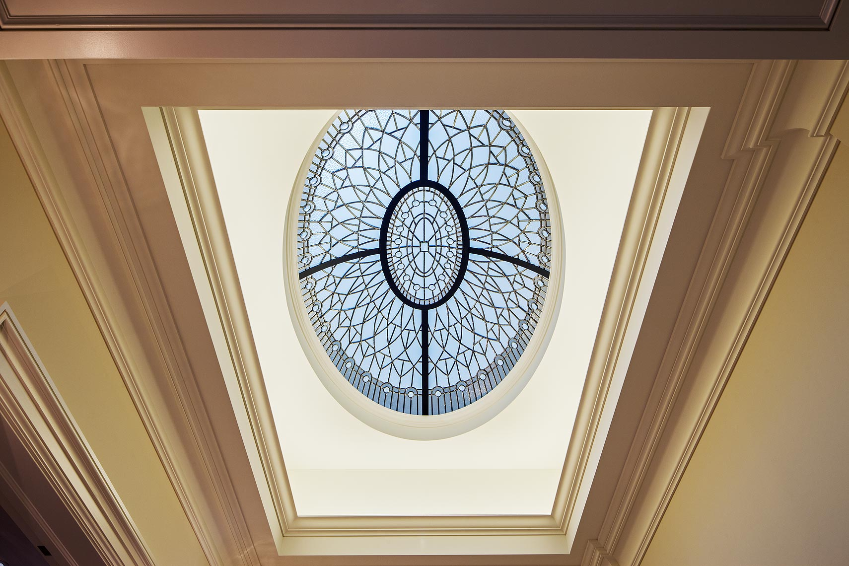 Interior Design Traditional Skylight