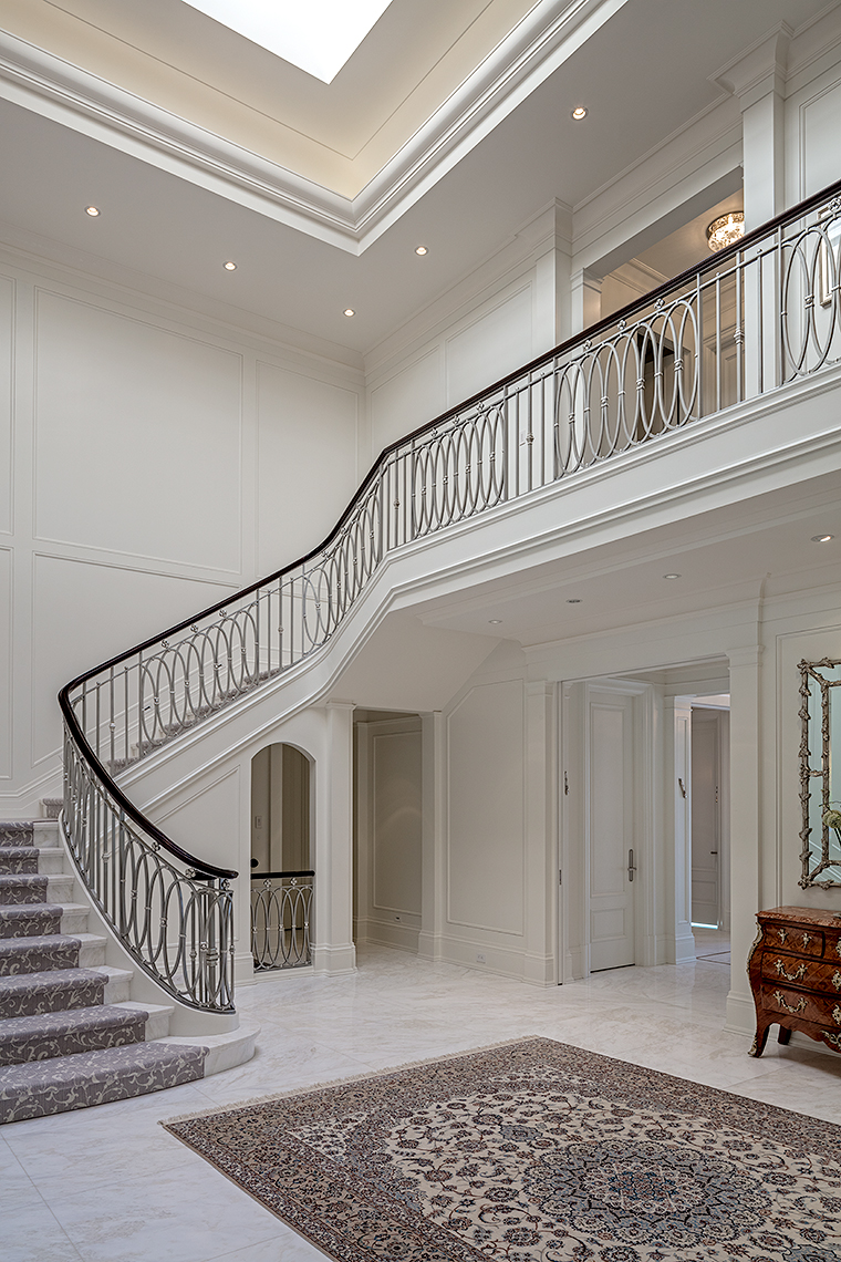 128HIL-8775, Custom Homes Neoclassical - Makow Architects