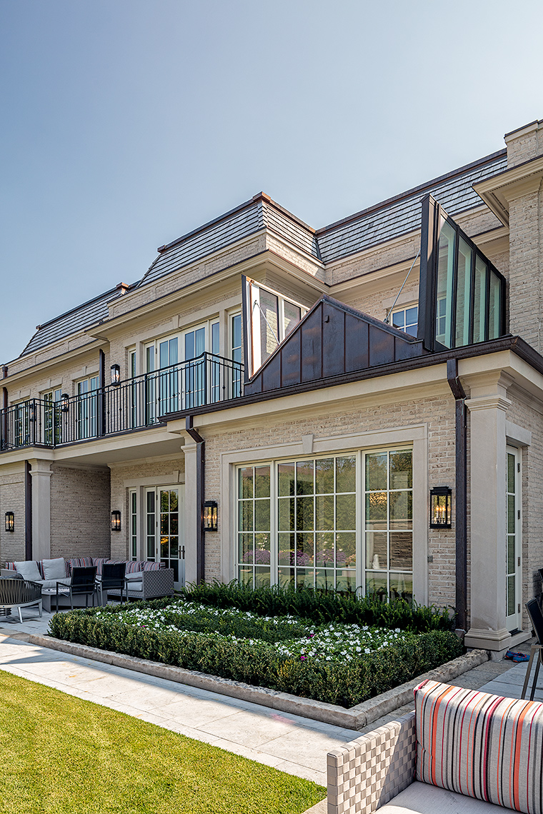 128HIL-8926, Custom Homes Neoclassical - Makow Architects