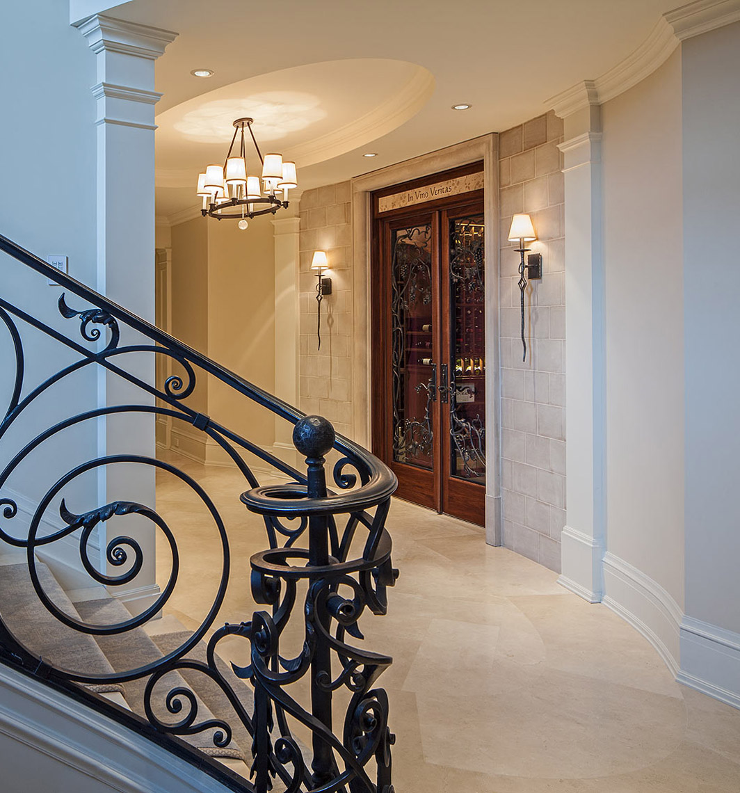 Interior Design Traditional French Staircases