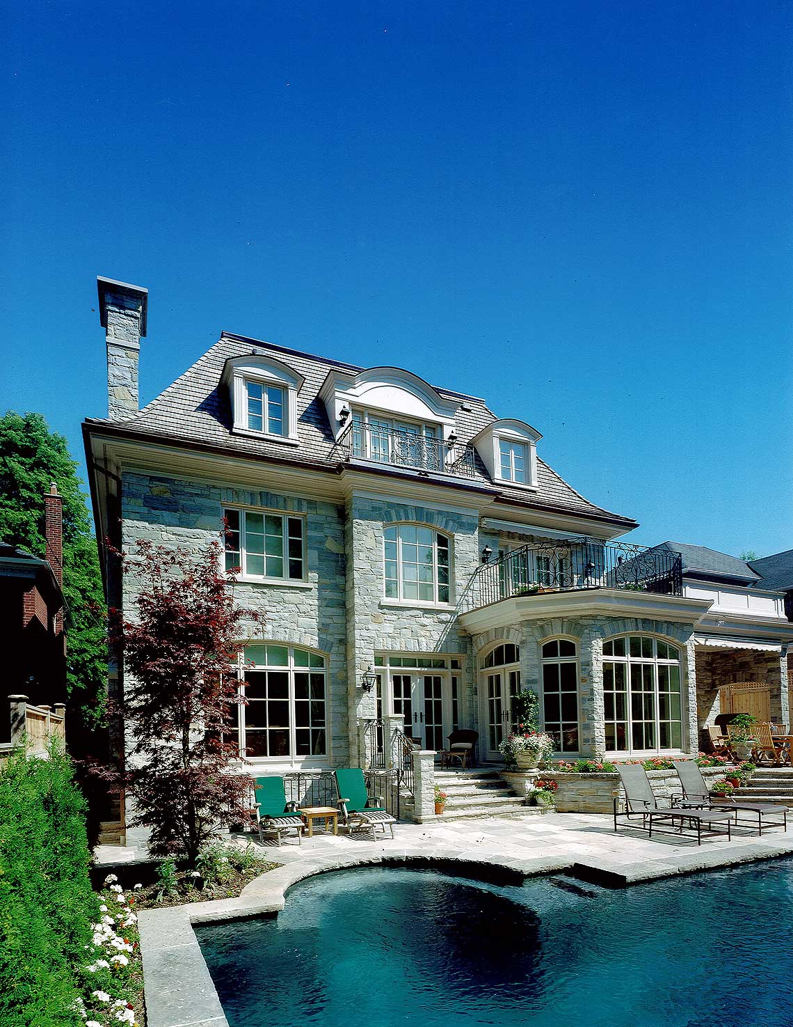 23-customhomes-frenchstyle-MakowArchitects-016