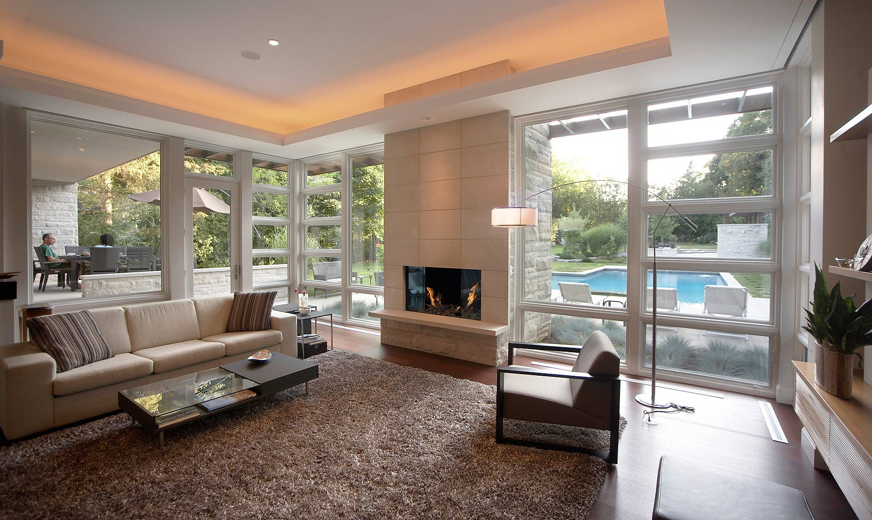 Modern Interior Design Family Room