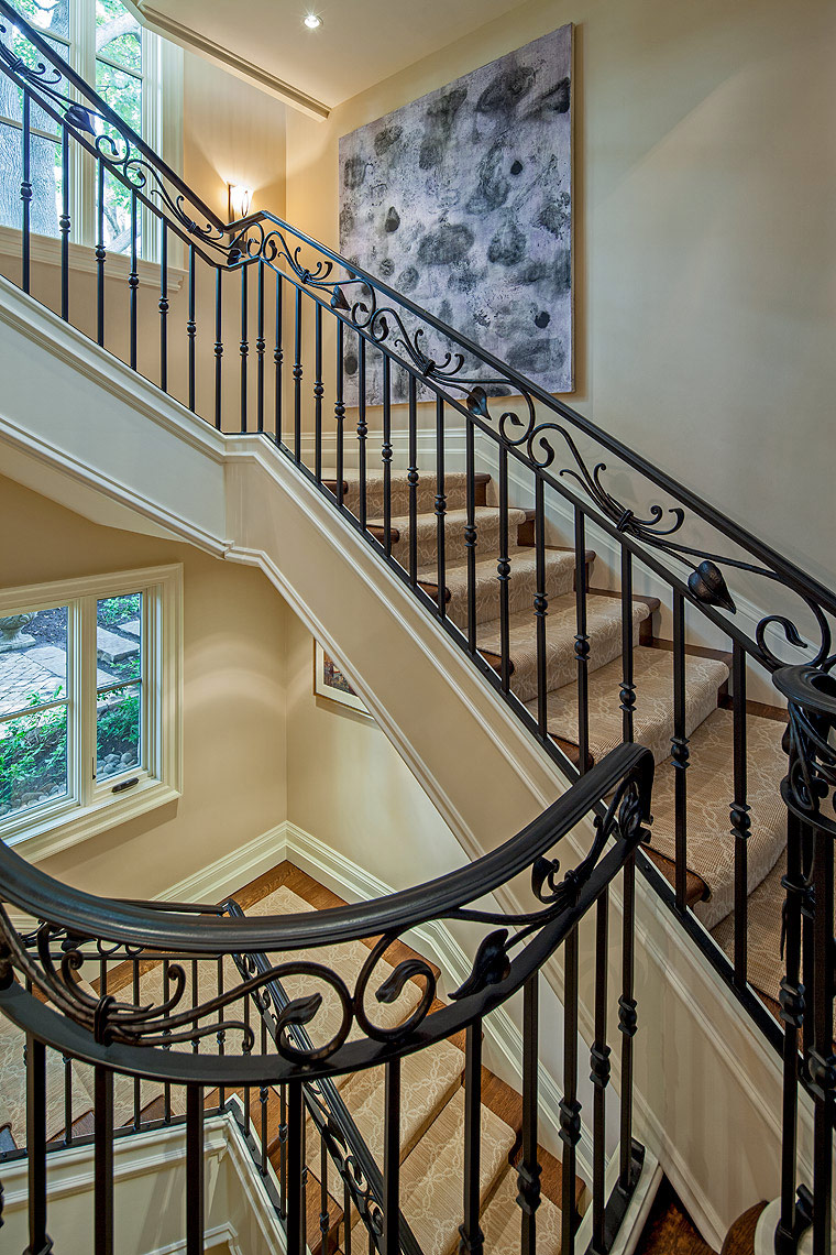 Interior Design Traditional Staircase