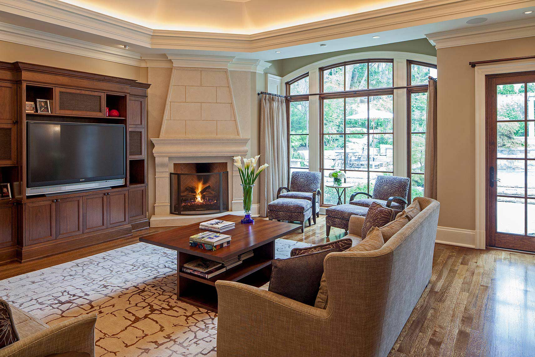 Interior Design Traditional Family Room