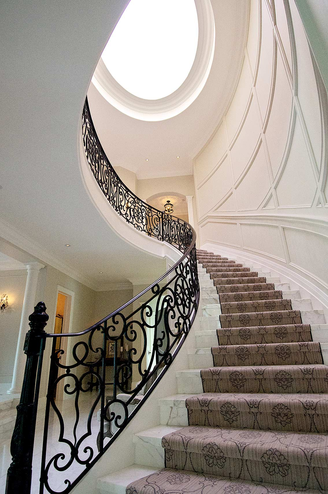 Interior Design Traditional Stair Case