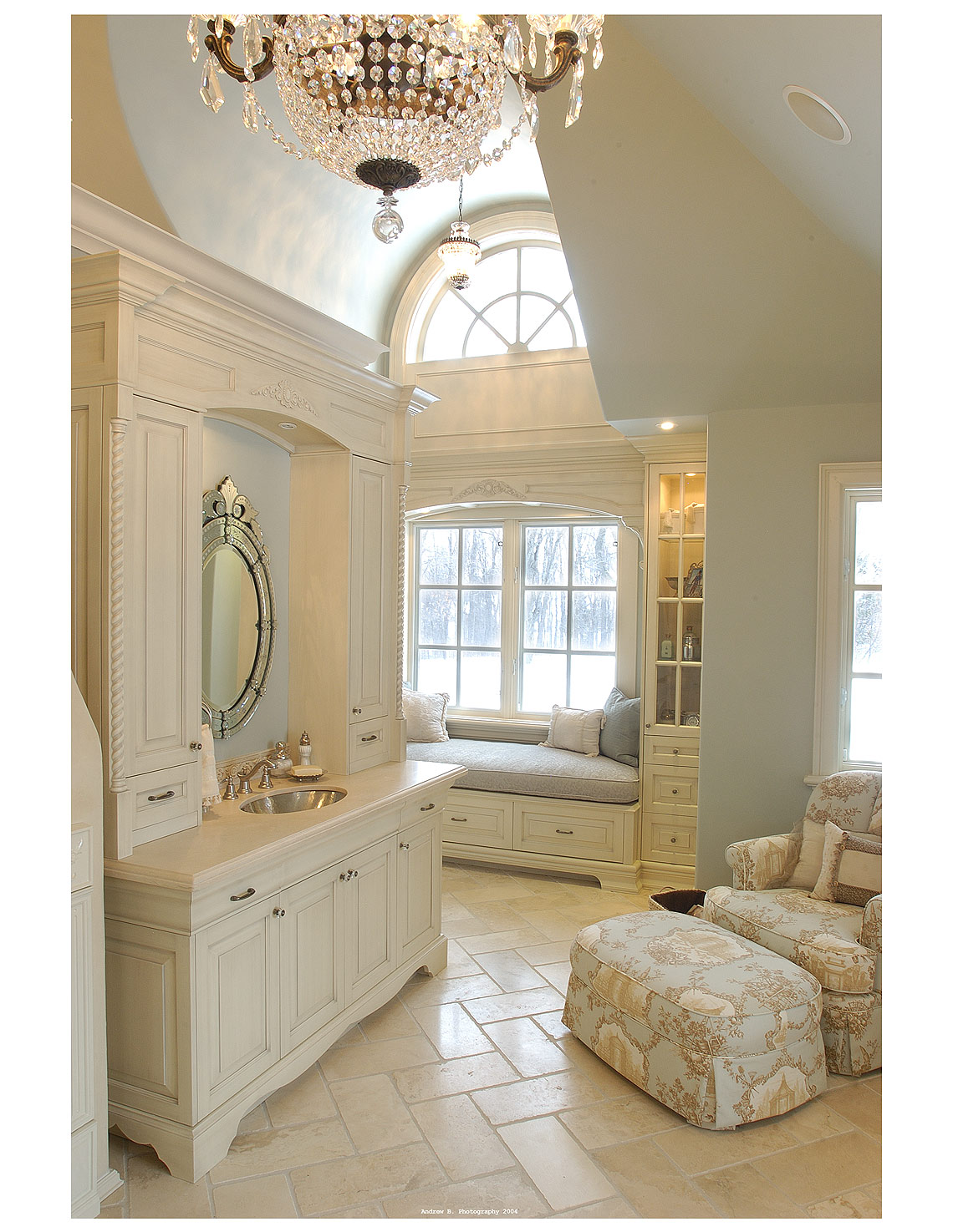 Interior Design Traditional Master Ensuite - Makow Architects