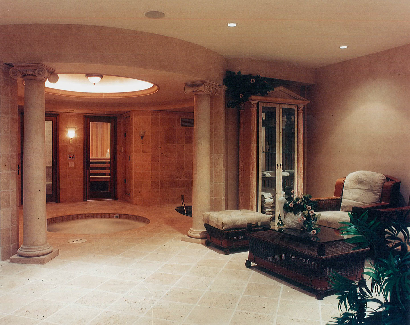 Interior Design Traditional Spa - Makow Architects