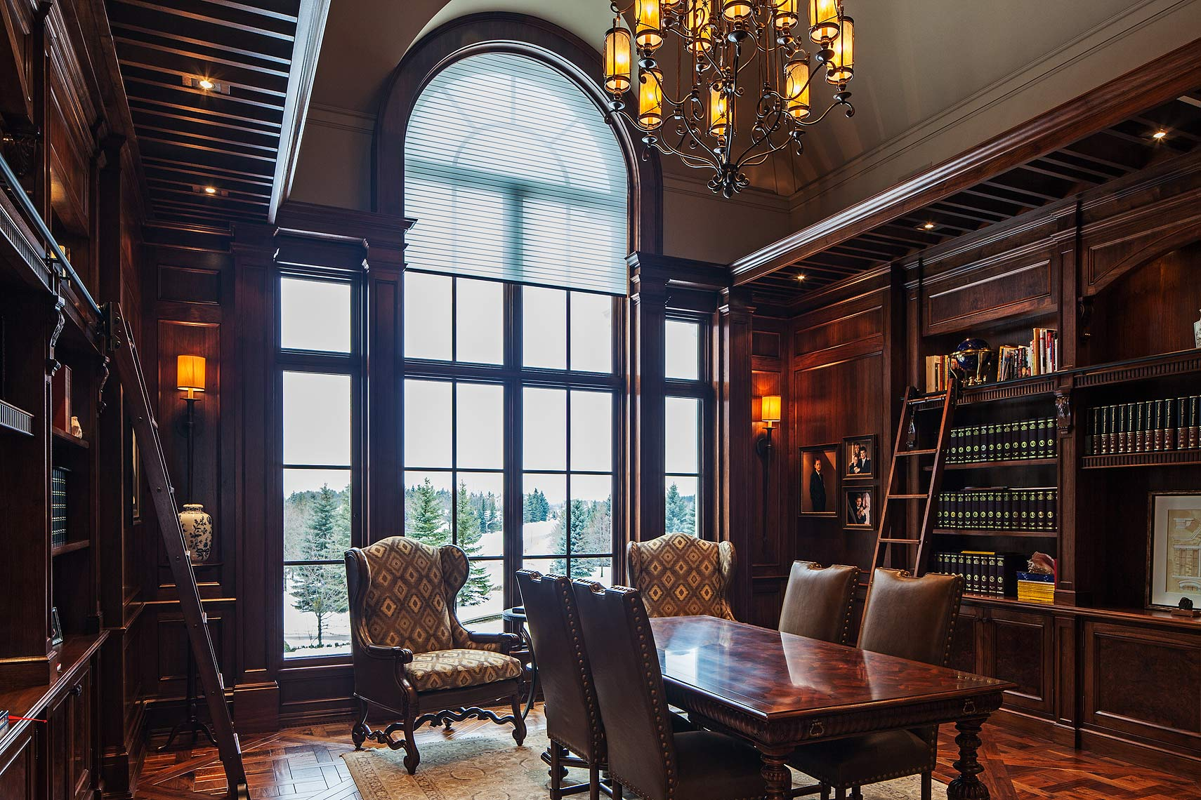 Interior Design Traditional Library Office